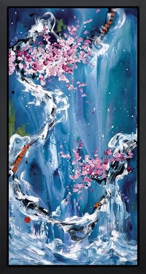 Trilogy of Wonder II by Danielle O'Connor Akiyama - Framed Limited Edition Glazed Box Canvas