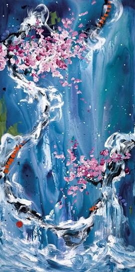 Trilogy of Wonder II by Danielle O'Connor Akiyama - Limited Edition Glazed Box Canvas